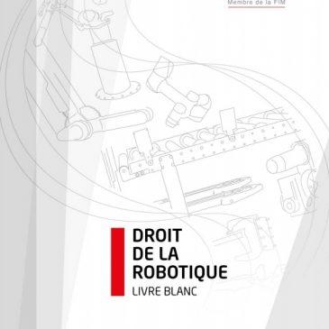 Droit de la robotique : le SYMOP publie son Livre blanc